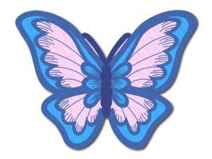 Filcový motýl 06