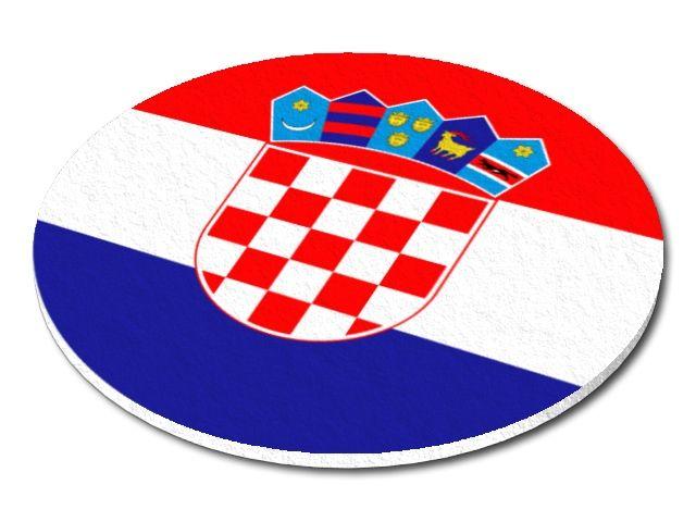 Filcový podtácek Chorvatsko