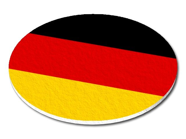 Filcový podtácek Německo