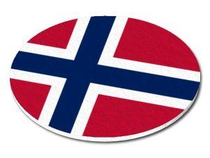 Filcový podtácek Norsko