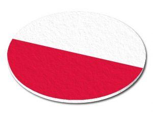 Filcový podtácek Polsko