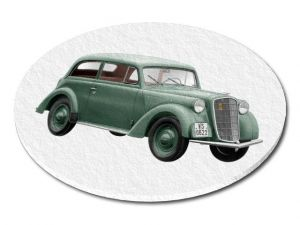 Filcový podtácek Opel Oldtimer
