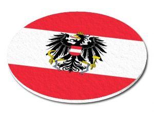 Filcový podtácek Rakousko