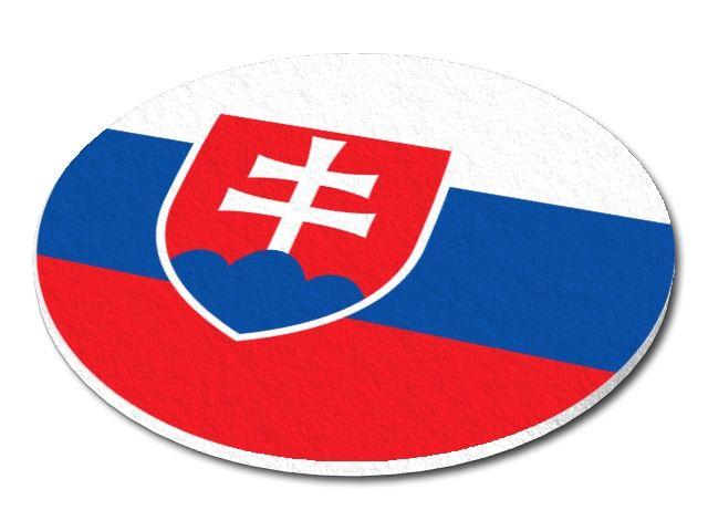 Filcový podtácek Slovensko