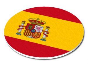 Filcový podtácek Španělsko