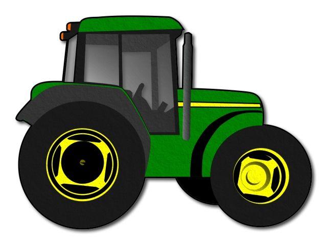 Filcový traktor tištěný