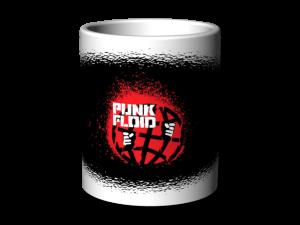 Hrnek bílý Punk Floid 2