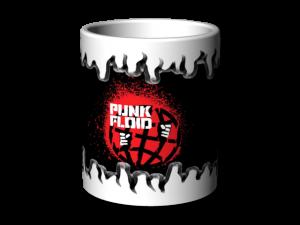 Hrnek bílý Punk Floid 4