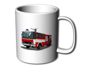 Hrnek s hasiči