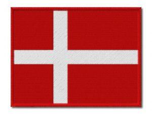 MAXI vlaječka Dánska