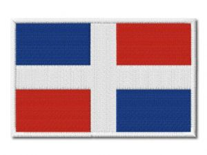 MAXI vlaječka Dominikánské republiky