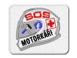 Nášivka SOS Motorkáři