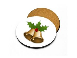 Podtácek vánoční zvonky