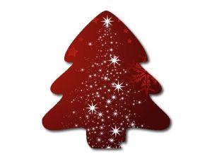 vánoční stromeček s potiskem