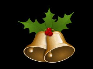 Vánoční zvonky filcové