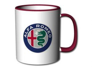 hrnek Alfa Romeo bordó