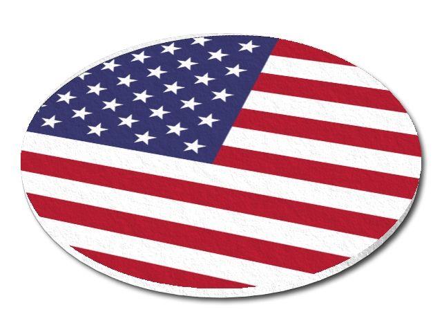 Filcový podtácek USA