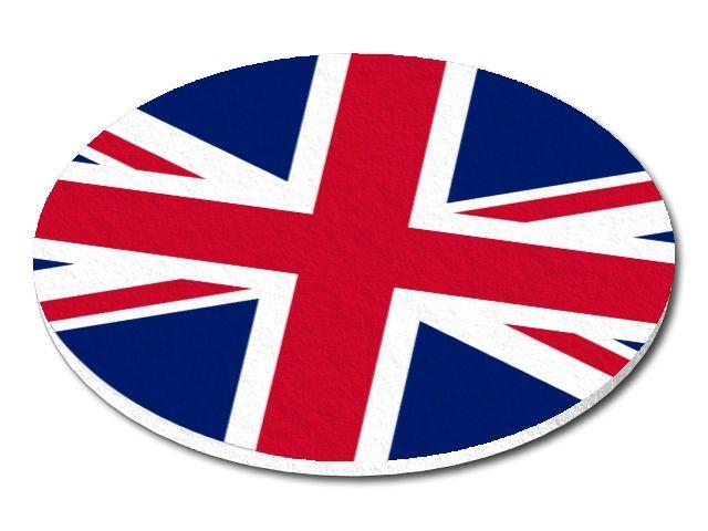 Filcový podtácek Velká Británie