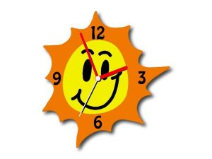 hodiny Sluníčko - pohled ze předu