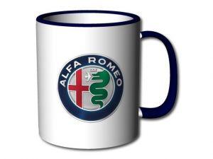 Hrnek Alfa Romeo modrý