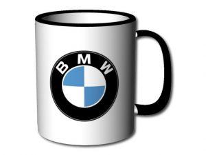 hrnek BMW s černým uchem