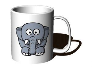 Hrnek se slonem
