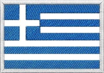 Nášivka Řecká vlajka