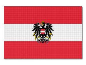 Rakouská státní vlajka