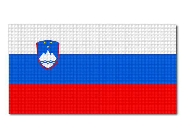 Tištěná slovisnká vlajka