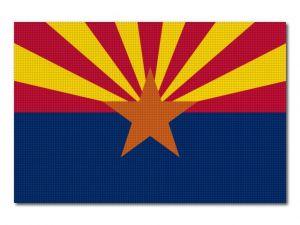 Vlajka Arizona