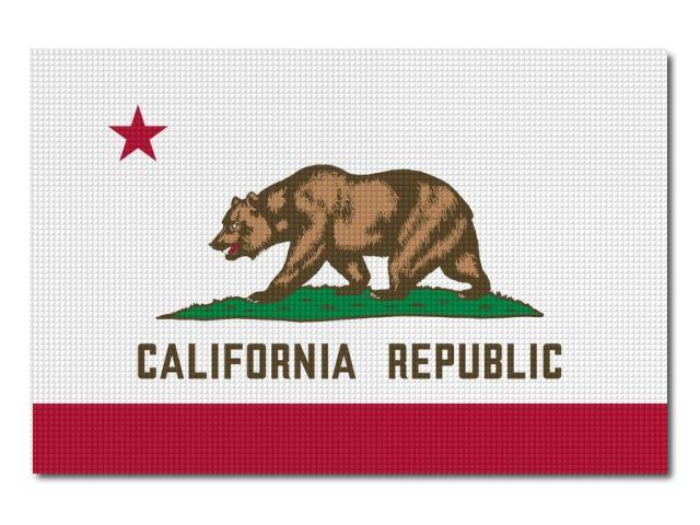 vlajka California