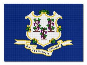 Vlajka Connecticut