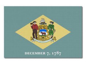 Vlajka Delaware