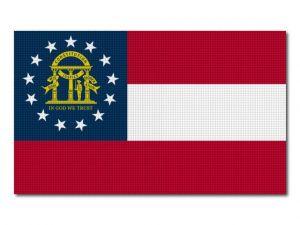 Vlajka Georgia