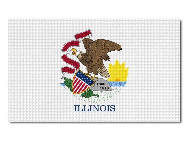 Vlajka Illinois