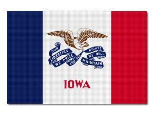 Vlajka Iowa