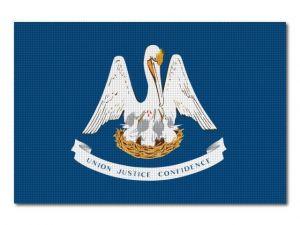 Vlajka Louisiana