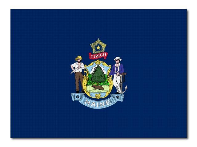 Vlajka Maine