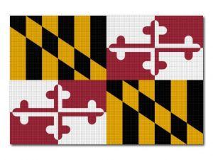Vlajka Maryland