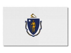Vlajka Massachusetts