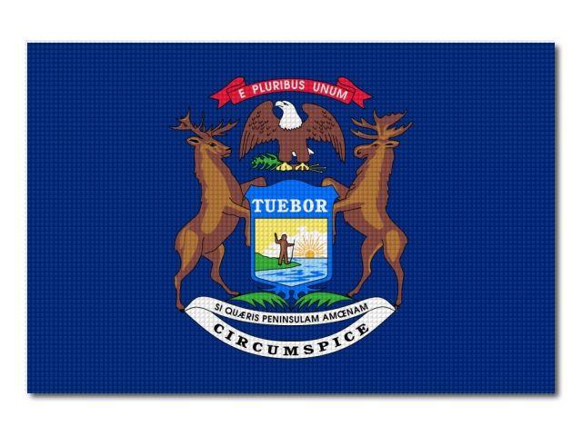Vlajka Michigan