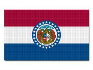 Vlajka Missouri