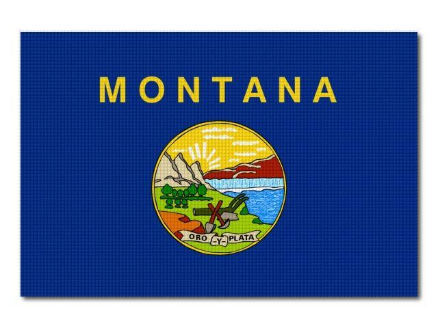 vlajka Montana