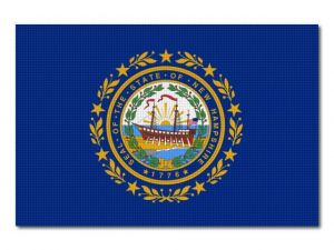 Vlajka New_Hampshire