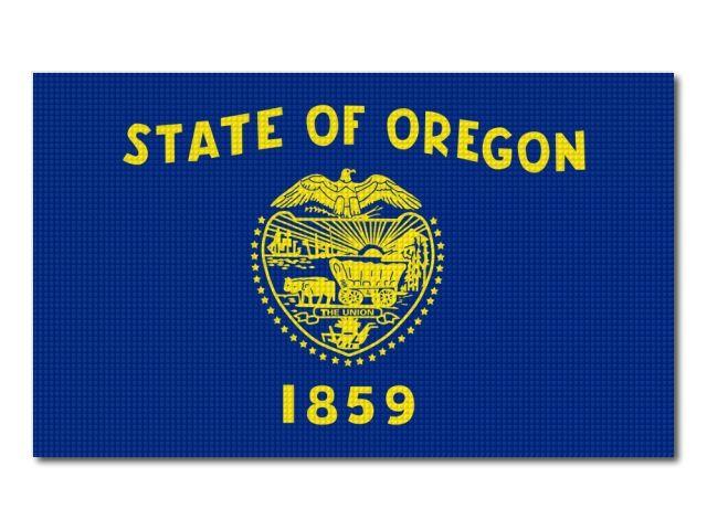 vlajka Oregon