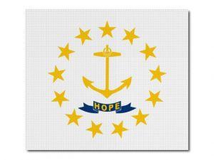 Vlajka Rhode_Island