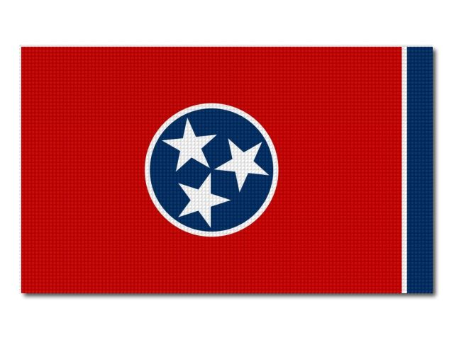 Vlajka Tennessee