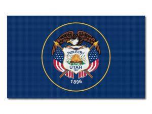 Vlajka Utah