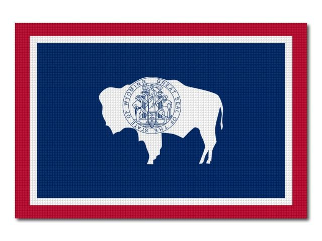 vlajka Wyoming