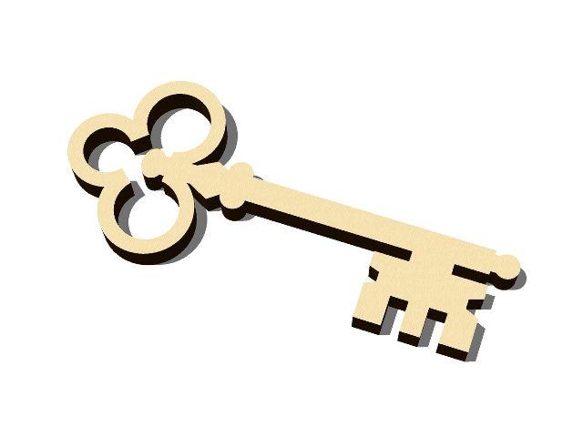 Výřez klíč 1